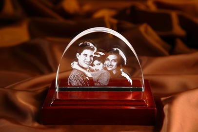 Crystal Engraving for Family