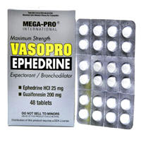 Vasopro Ephedrine - Product Information, Reviews, and Prices